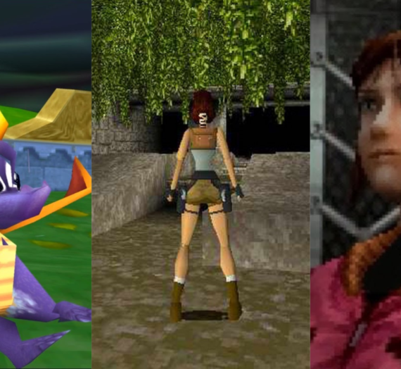 Three Videogames That Made My Childhood