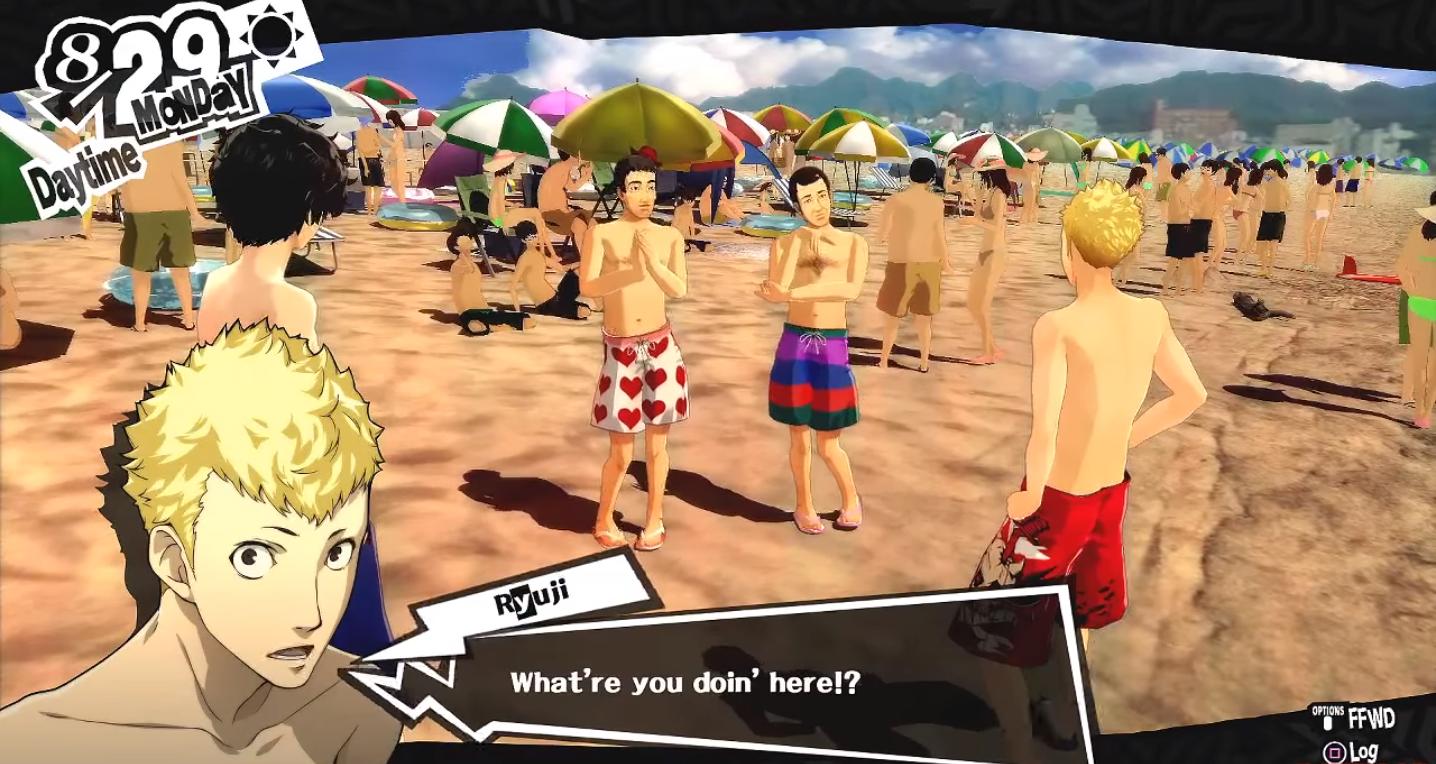 Persona 5 Beach